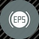 car, electronic, eps, indicator, light, power, steering icon
