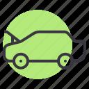 bonnet, car, cover, engine, hood, open icon