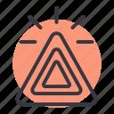 automobile, car, emergency, light, parking, part, vehicle icon