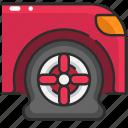 car, flat tire, puncture, tire, transportation, wheel