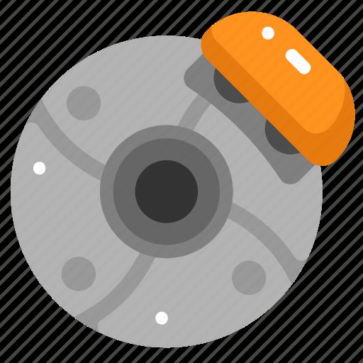 Automobile, brake disc, car, disc brake, garage, repair, vehicle icon - Download on Iconfinder