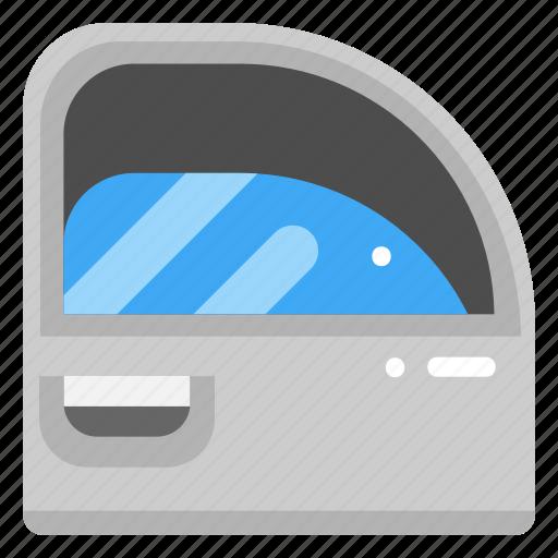 car, car door, door, electronics, mirror, parts, window icon
