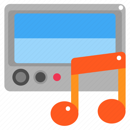 Audio, car, electronics, music, music player, technology icon - Download on Iconfinder