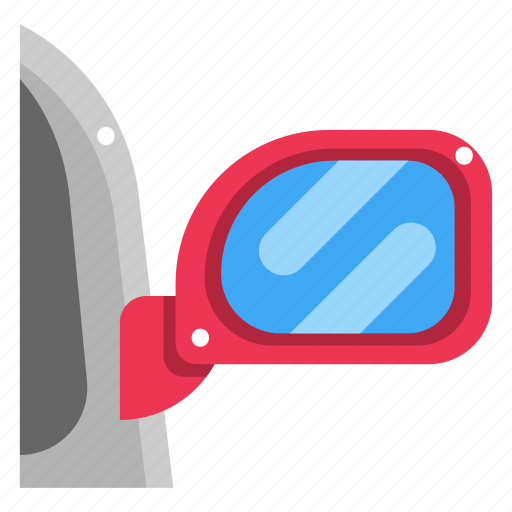Car, mirror, rearview mirror, security, transportation icon - Download on Iconfinder