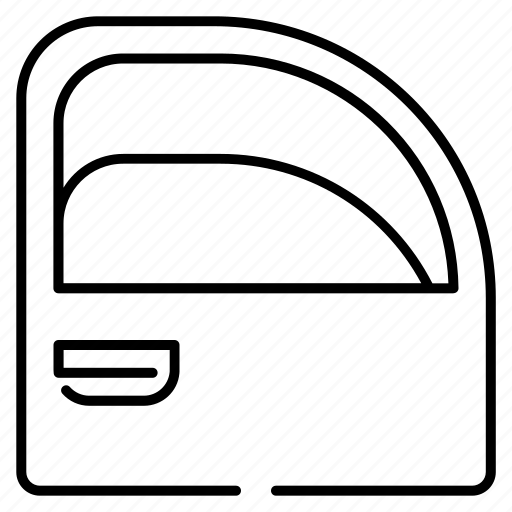 Car, car door, door, electronics, mirror, parts, window icon - Download on Iconfinder
