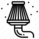 car, filter icon