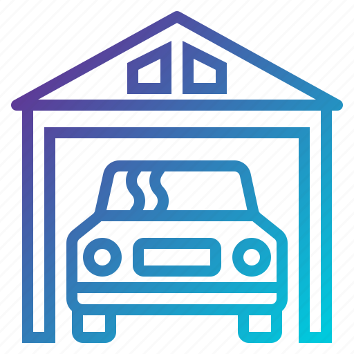 car, garage, vehicle icon