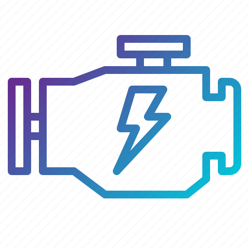 engine, motor, transport icon