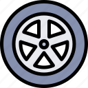 car, repair, repairment, wheel, workshop icon