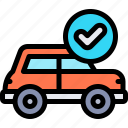 car, fixed, repair, repairment, workshop icon