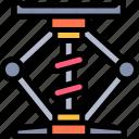 car, elevator, repair, repairment, workshop icon