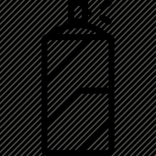 can, car, repair, repairment, spray, workshop icon