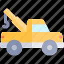 car, repair, repairment, tow, truck, workshop icon