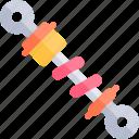 car, damper, repair, repairment, workshop icon