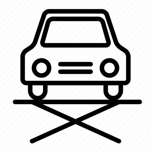 car, garage, mechanican, repair, service icon