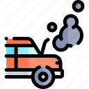 broken, car, repair, repairment, workshop icon