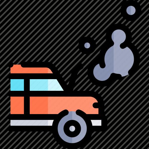 broken, car, repair, repairment, workshop icon