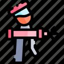 airbrush, car, repair, repairment, workshop icon
