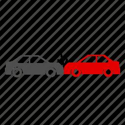 accident, breakdown, car, crash, fix, petrol icon