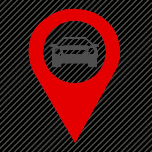 Car, car park, gear, gps, map, park, traffic icon Car Gps Maps on