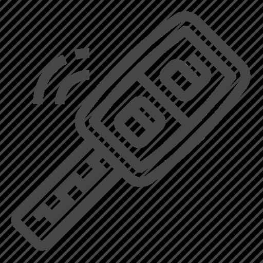 car  keyless  remote  system icon