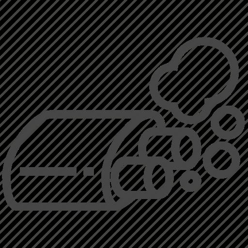 auto, car, exhaust, transportation icon