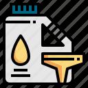 barrel, engine, gasoline, oil, petroleum, service icon