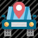 gps, location, navigator, service icon