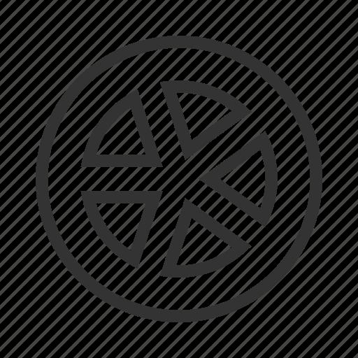 car service, tire, wheel icon