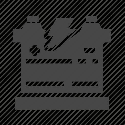 battery, car, service icon