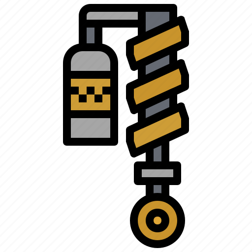 absorber, miscellaneous, piece, security, shock, transport, vehicle icon