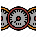 measuring, speedometer, traffic, transport, transportation, vehicle, velocity icon