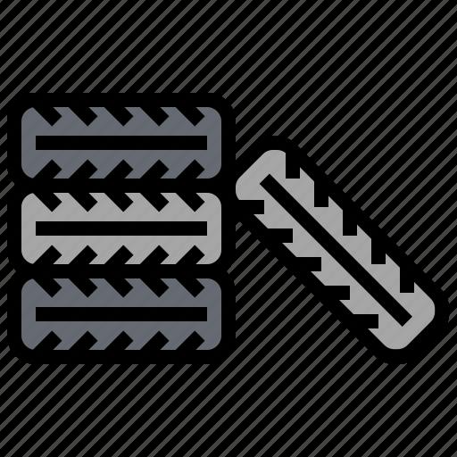 automobile, car, tire, transport, transportation, vehicle, wheel icon