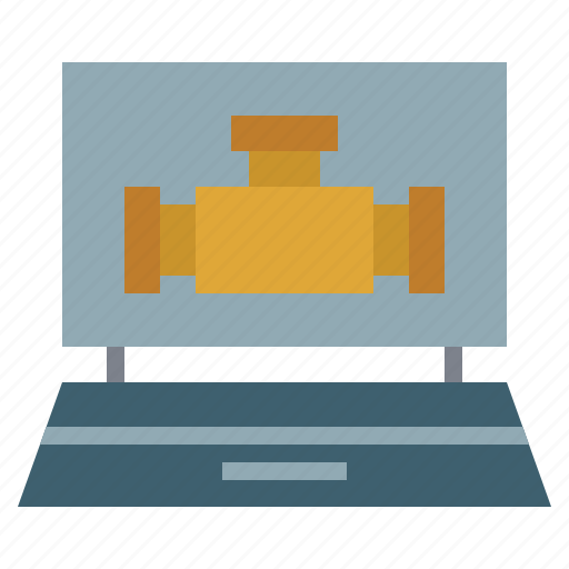 car, computer, diagnostic, garage, laptop, repair, transportation icon