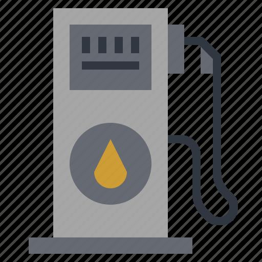 aotomobile, gas, gassoline, petrol, refuel, station, transport icon