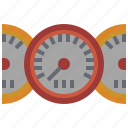 customer, measuring, service, speedometer, support, transportation, velocity icon