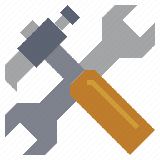 construction, garage, repair, reparation, screwdriver, tools, wrench icon