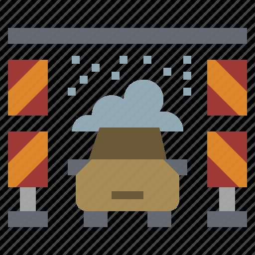 automobile, car, service, transport, transportation, vehicle, wash icon
