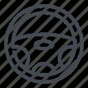 car, mechanic, repair, service, steering, wheel icon