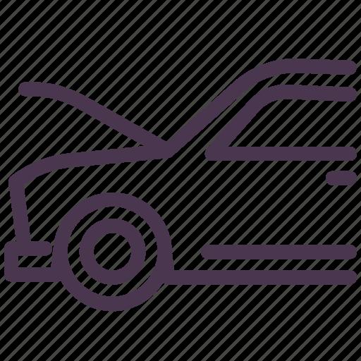 auto, car, hood, service, up.fix icon