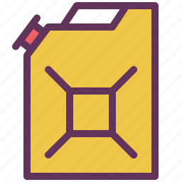canister, diesel, fuel, gasoline, service icon