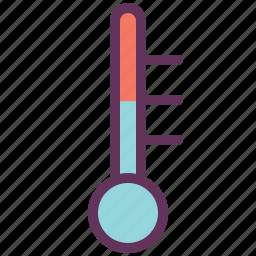 auto, engine, gauge, motorparts, temperature icon
