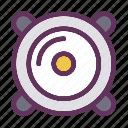 audio, car, mount, music, service, sound, speaker icon