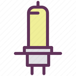 automobile, headlight, lamp, light, parts icon