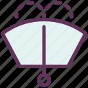 auto, fluid, parts, windscreen, windshield icon