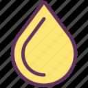 drop, fuel, oil, water icon