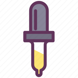 color, dropper, eyedropper, picker, pipette icon