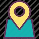 car, location, navigation, parking, pin, service icon