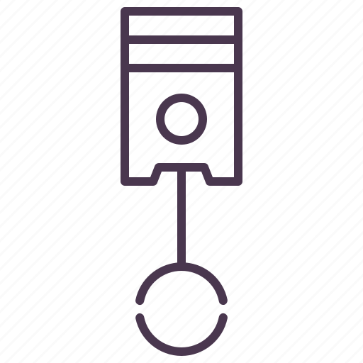 automotive, car, cylinder, machine, piston, preferences, service icon