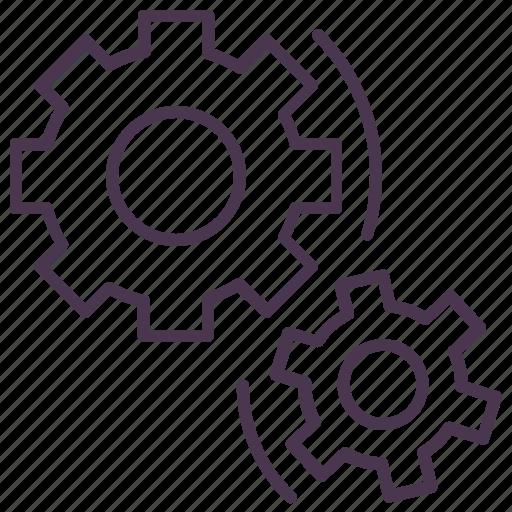 car, cogwheel, gearshift, service, settings, tool icon